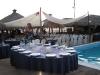 Cena servita a bordo piscina