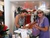 Daniela Broch e Anna Maria in negozio a Forte dei Marmi
