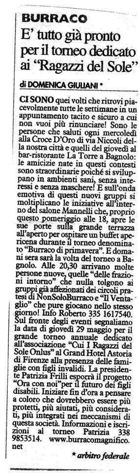 La NAZIONE 14 Maggio 2014